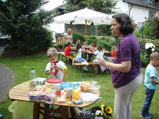 Englisch for Kids - Grillfest