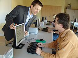 Schulungsraum im Bildungsforum Obernburg - Schulung