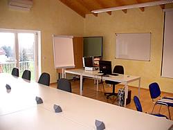 Schulungsraum im Bildungsforum Obernburg - Sprachkurse